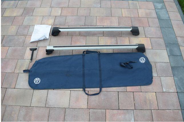3Relingi dachowe, bagażnik VW Passat B6 oryginał