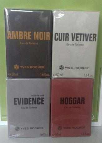 Туалетная вода AMBRE,HOGGAR,EVIDENCE,VETIVER 50мл Yves Rocher/Ив Роше