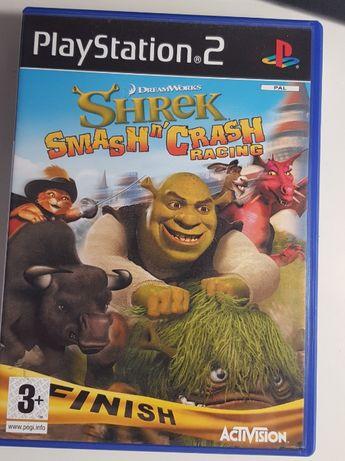 Jogo Playstation 2 - Shrek - Smash n' Crash Racing
