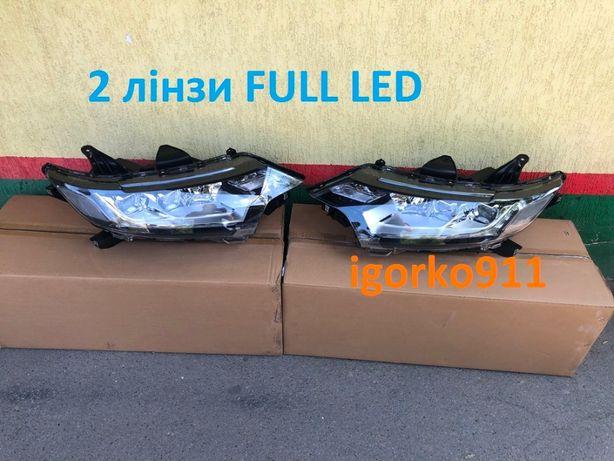 Фари Full LED Outlander 3 15- основний АКПП Радиатор капот фары
