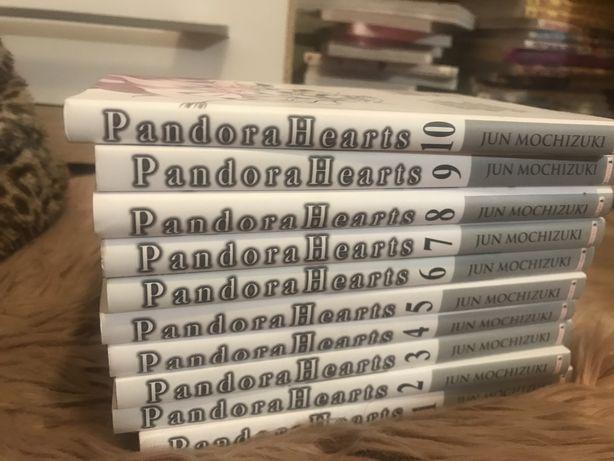 Pandora Hearts 10 tomów