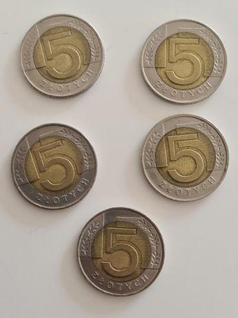 5zl 5 złotych Pięciozłotówka rarytas unikat 2008r 2008 rok okazja