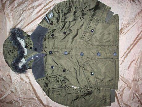Куртка зимняя парка аляска пилот Reset alpha на подростка размер 164