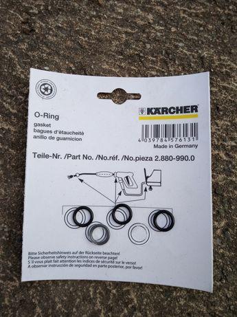 Karcher o-ringi uszczelki 4 szt. oryginał 2.880-990.0