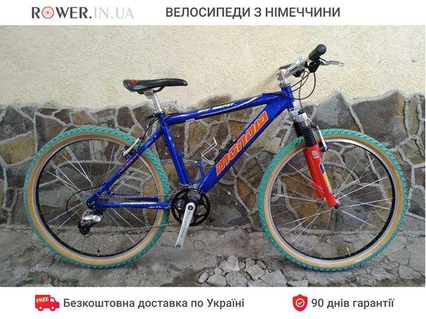Добротний велосипед на Deore XT бу Mondia 26 вилка Rock Shox