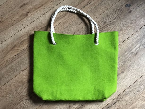 Nowa torba filcowa duża torebka fason OBag