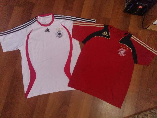 Футболка футбольная, джерси Сборная Германии Adidas 2 шт