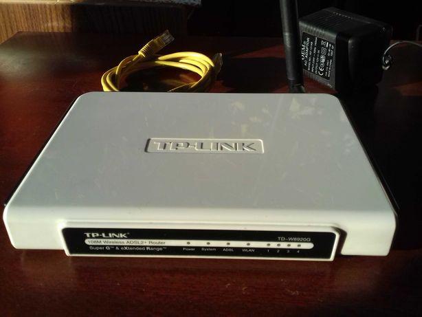 TP-Link TD-W8920G, WI-FI роутер, маршрутизатор   ADSL2+