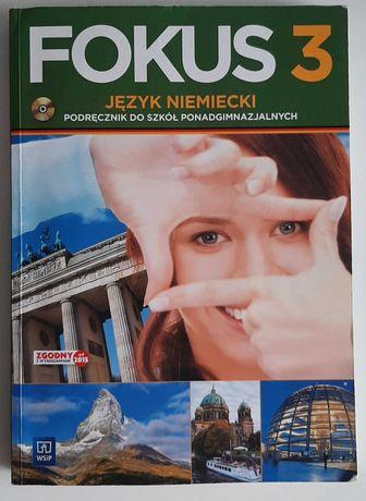 Podręcznik Fokus 3. Język niemiecki. LO/Technikum (przed reformą) +CD