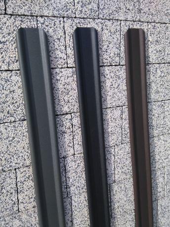 NOWY WZÓR - Sztachety metalowe