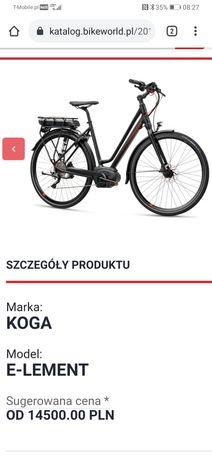 Koga E-Lement Bosch Performance shimano slx hydraulika