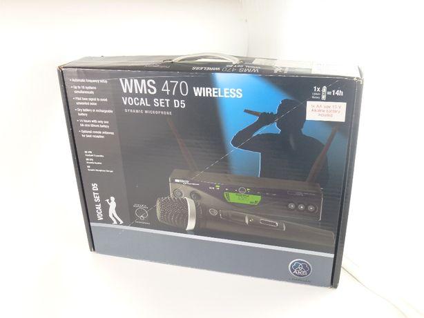 AKG WMS 470 VOCAL SET D5 mikrofon bezprzewodowy odbiornik K18.pl