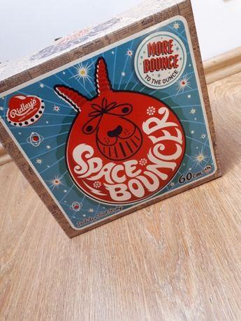 Piłka skoczek oryginał space bouncer z pompką retro 1970 classic