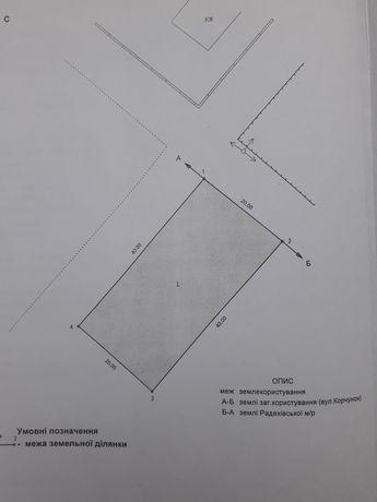Земельна ділянка для житлового будівництва, 0.8 га