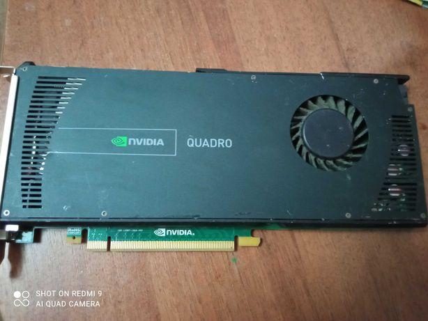 Nvidia Quadro 4000 2 gb ddr5