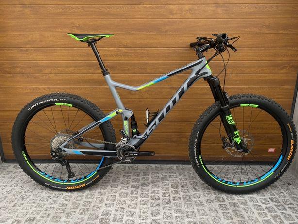Scott Spark 710 Plus 2017 Carbon Idealny XL Deore XT Fox Elite Wysylka