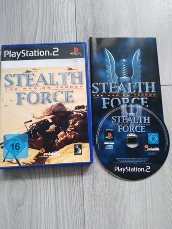 Gra Play Station 2 Stealth Force The War On Terror