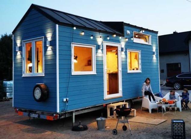Tiny House, Całoroczny domek mobilny, Całoroczny dom na kołach