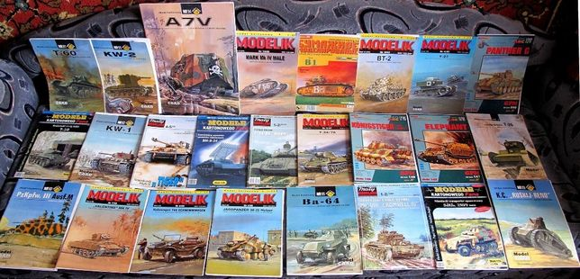 Журналы для бумажного моделизма
