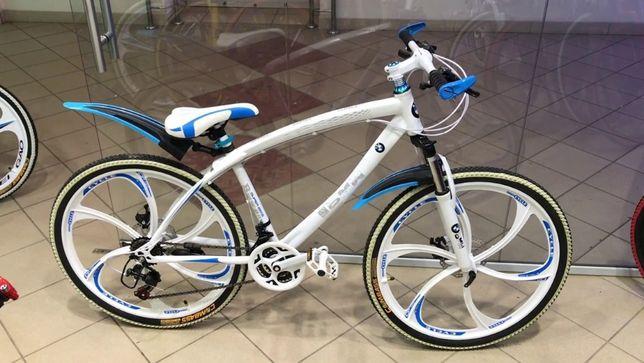 Супер цена! Велосипед BMW литых дисках 26 рама 17 НОВЫЙ!