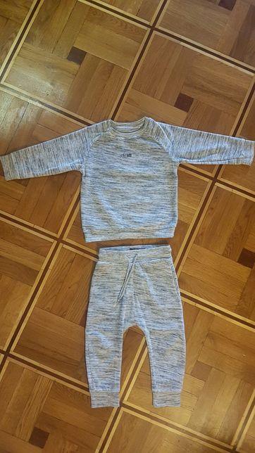 Велюровый костюм next 1,5-2 года 92-98