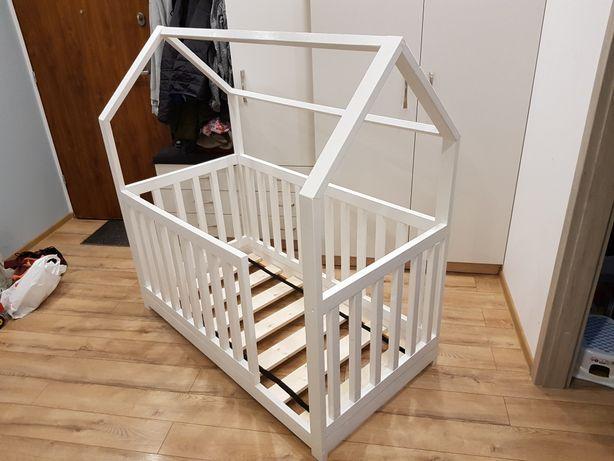 Łóżko dla dziecka domek skandynawskie tipi