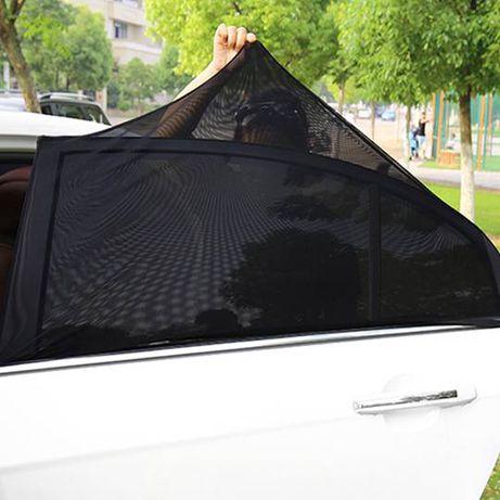 Guarda-sol do carro para janela traseira para bebês, crianças e animai