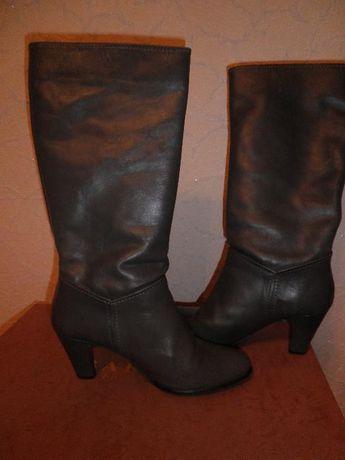 Zara сапоги,38-39 размер