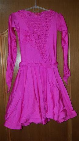 Продам платья для бальных танцев детское 128-134см.