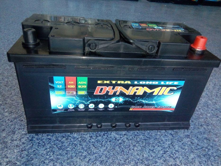 Akumulator DYNAMIC 12V 100Ah 820A Starachowice