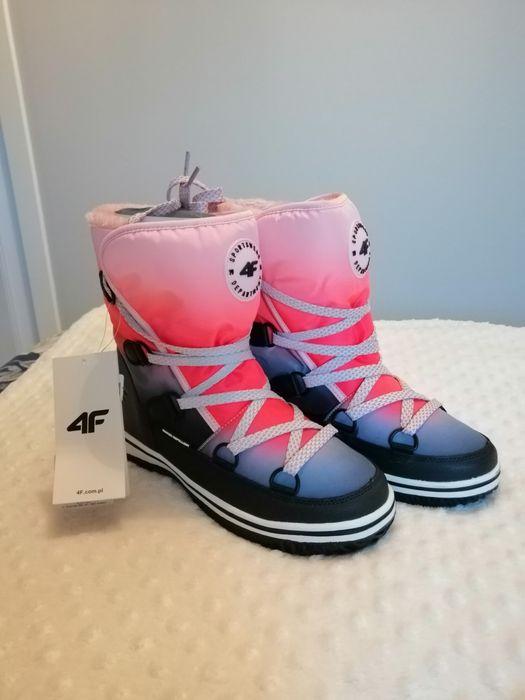 Sprzedam buty śniegowce 4F rozmiar 38 Kraków - image 1