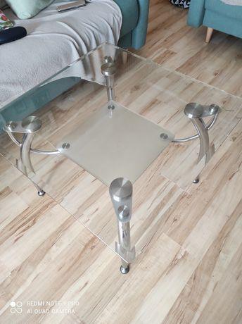 Stolik kawowy szklany jak nowy