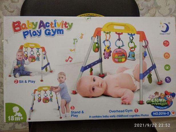 Дитячя гра Baby activity play gym