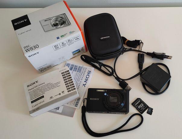 Aparat cyfrowy Sony Cyber-shot DSC-W830 zestaw! Jak nowy!