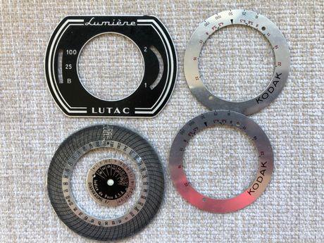 Chapas antigas de Máquinas Fotográficas