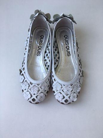 Кожаные балетки, туфли, босоножки р.31