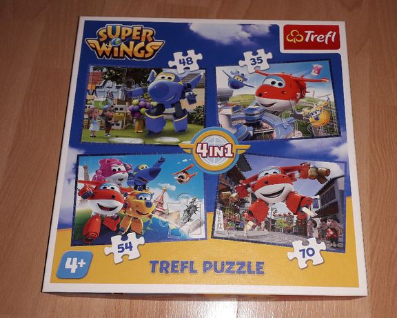Puzzle Superwings 4w1 - Trefl