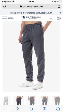 ОРИГИНАЛ! Теплые штаны мужские US POLO
