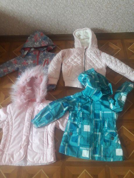 Курточки дитячі вік 3-4рочки