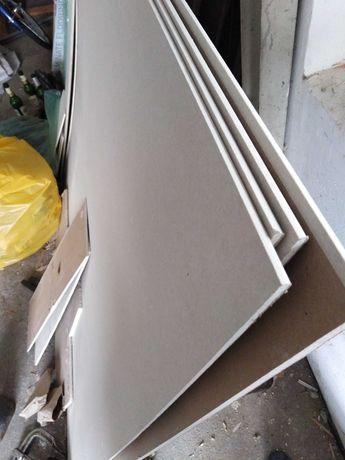 Płyty kartonowo gipsowe cienkie 6,5mm