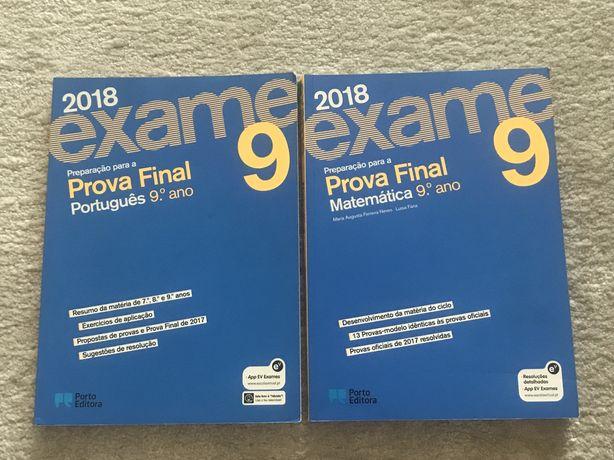 Livros exame 9.º ano