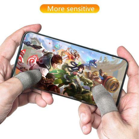 Напальчники для телефона серые новая версия Seuno для Pubg mobile пубг
