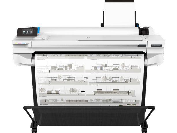 HP DesignJet T525 (36 дюймов), принтер A0, плоттер (возможно СНПЧ)