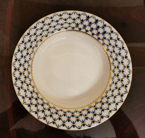 Talerz głęboki porcelanowy - Carska Wytwórnia Porcelany (Łomonosow)