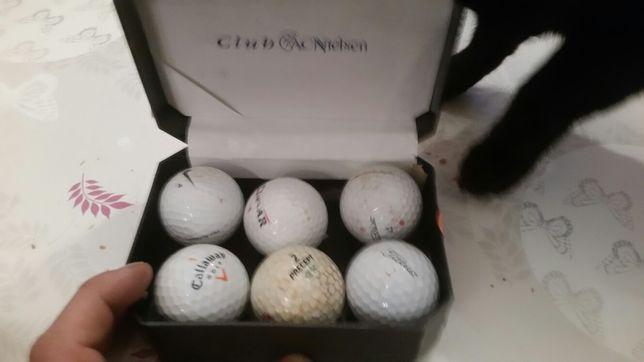 6 bolas de golfe