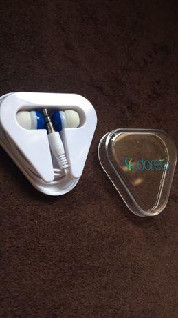 Słuchawki douszne - nowe, w opakowaniu