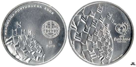 Moedas comemorativas do Euro 2004