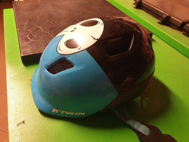 Kask rowerowy BTwin, okazja