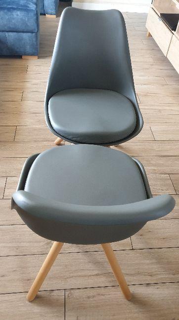 Krzesła grafitowe