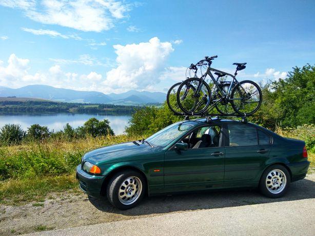 Bagażnik dachowy e46 dromader c15 na rowery
